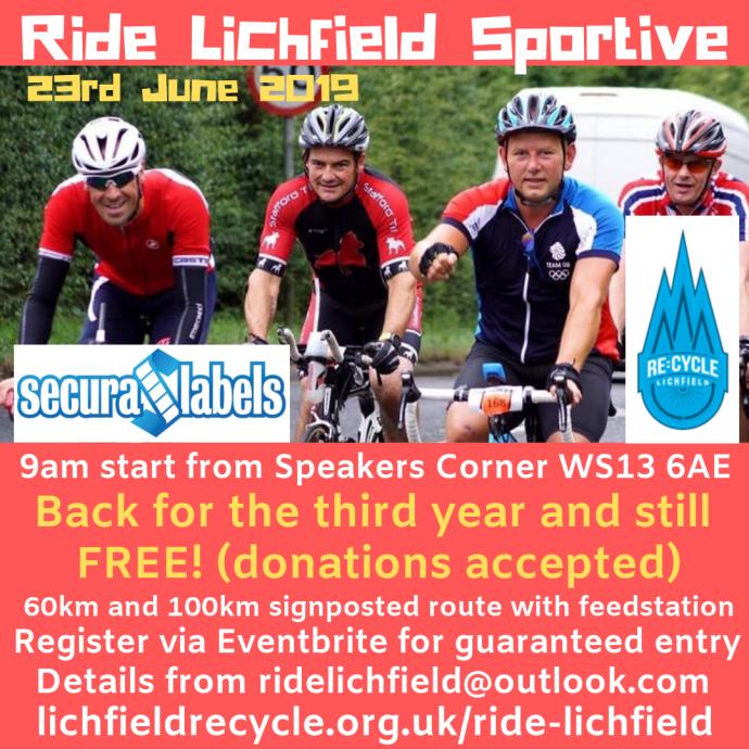 3rd ride lichfield sportive