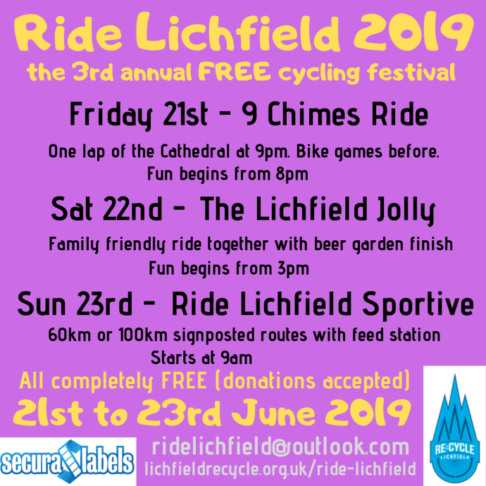ride lichfield 2019